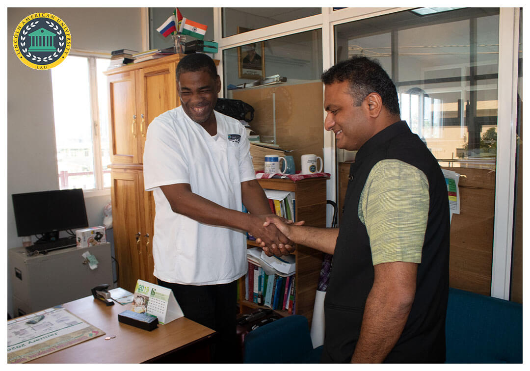 High Commissioner of India to Guyana Visit Lincoln American University 03