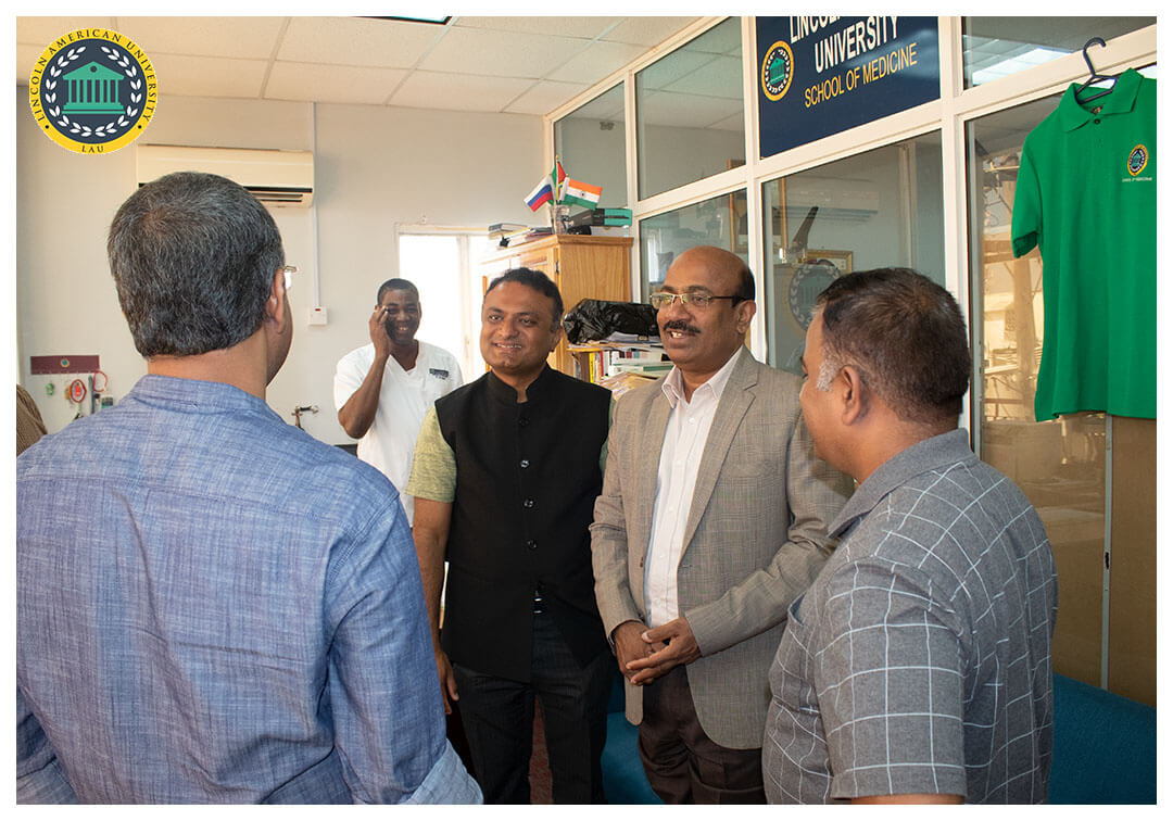 High Commissioner of India to Guyana Visit Lincoln American University 06