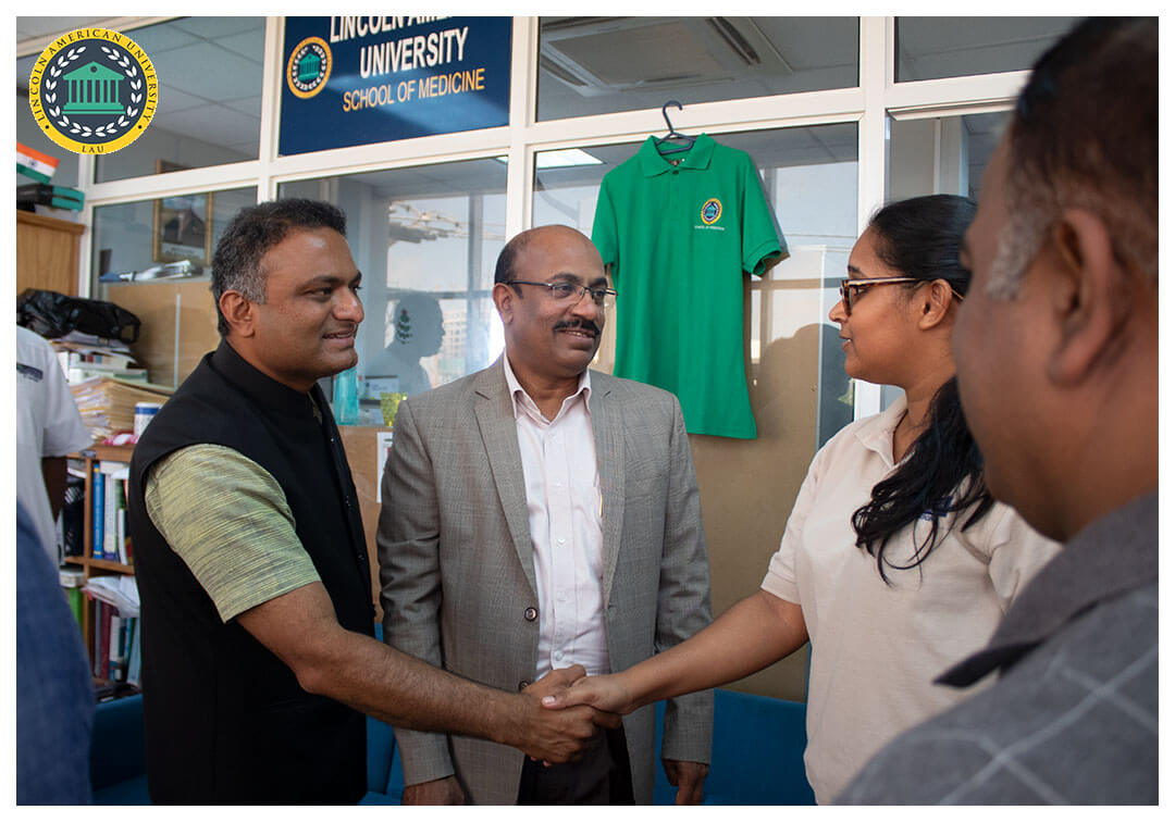 High Commissioner of India to Guyana Visit Lincoln American University 07