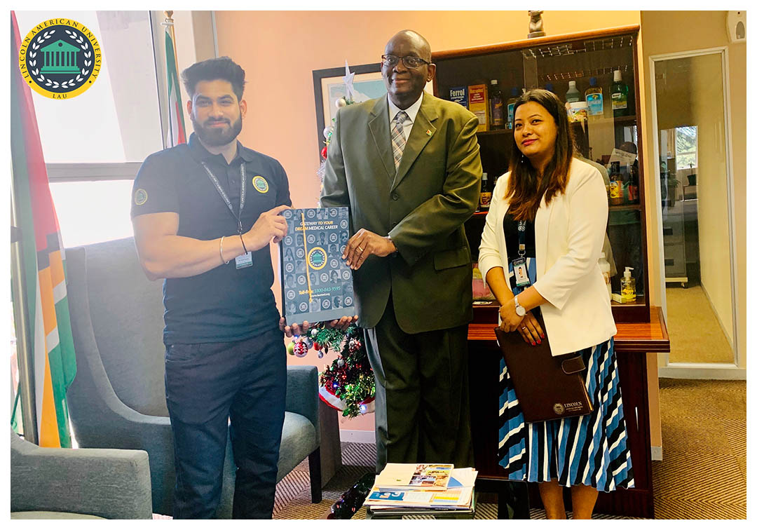 Lincoln American University - MBBS in Guyana - Meeting with High Commission of Guyana in South Africa 02